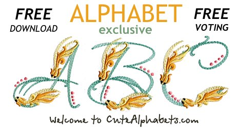 Embroidery alphabets cute alphabets embroidery fonts 529 embroidery alphabets altavistaventures Image collections